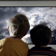 Per un bambino su due la tv è un efficace antistress