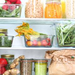 Organizzare meglio il frigo e come conservare gli alimenti